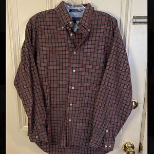Red and Blue Plaid Tommy Hilfiger Shirt